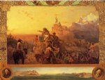 westward he course of empire takes its way by emanuel gottlieb leutze painting