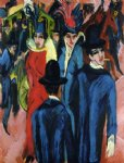 ernst ludwig kirchner berlin street scene paintings