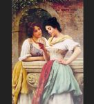 eugene de blaas shared correspondance painting-82444
