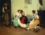 eugene de blaas the friendly gossips painting