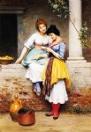 the love letter by eugene de blaas painting