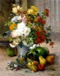 grand bouquet de fleurs by eugene henri cauchois painting