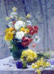 eugene henri cauchois still life of flowers painting 82790