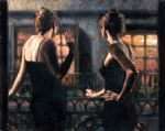 cenientas of the night ii by fabian perez painting