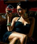 tess iv by fabian perez painting