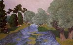 felix vallotton landscape at arques painting 34200