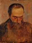 portrait paintings - portrait of edouard vuillard by felix vallotton