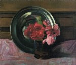 felix vallotton still life with roses painting 34230