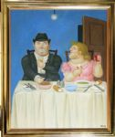 fernando botero the dinner painting