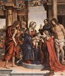 the marriage of st catherine by filippino lippi painting