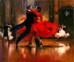 flamenco dancer dance series ii painting-78376