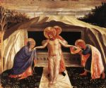 entombment by fra angelico painting
