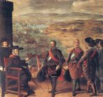 francisco de zurbaran defence of cadiz against the english painting