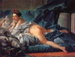 brown odalisk by francois boucher painting