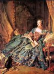 the marquise de pompadour by francois boucher painting