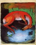 franz marc dead deer painting-34026