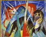 franz marc fairy animals painting-34035