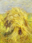 sheaf of grain by franz marc painting