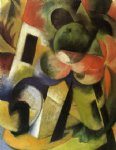 small composition ii by franz marc painting