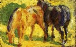 small horse picture by franz marc painting