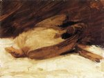 the dead sparrow by franz marc painting