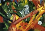 the monkey by franz marc paintings-34080