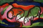 franz marc zwei schafe paintings