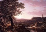 frederic edwin church july sunset berkshire county massachusetts paintings