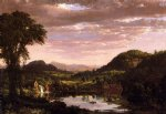 frederic edwin church new england landscape painting 33898