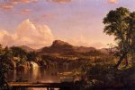 new england scenery by frederic edwin church painting