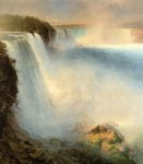 frederic edwin church niagara falls from the american side painting-33903