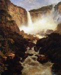 the falls of tequendama near bogota new granada by frederic edwin church painting
