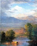 frederic edwin church the magdalena river equador painting