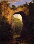 frederic edwin church the natural bridge virginia painting