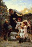 grandfather s birthday by frederick morgan painting
