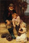 helping grandpa by frederick morgan painting