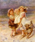 frederick morgan on the beach painting 33772