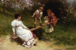 see saw by frederick morgan painting