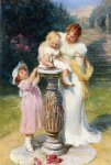 sunny hours by frederick morgan painting