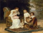 the little strangers by frederick morgan painting