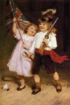 the toy parade by frederick morgan painting