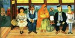el autobus by frida kahlo painting