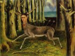 the little deer by frida kahlo painting