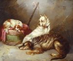 before the hunt by george armfield painting