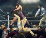 dempsey and firpo by george bellows painting