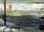floating ice by george bellows painting