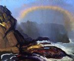 george bellows fog rainbow prints
