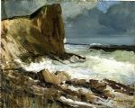 gull rock and whitehead by george bellows painting