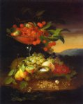 george forster paintings - still life with fruit iii by george forster