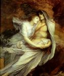 pablo and francesca by george frederick watts painting